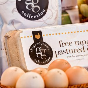 free range pastured eggs - the good grocer collection
